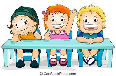 Kids in a Class