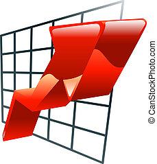 graph icon clipart