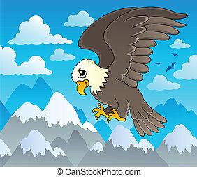 Image with eagle theme 1