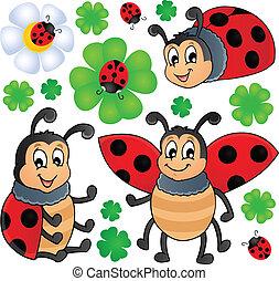 Image with ladybug theme 1