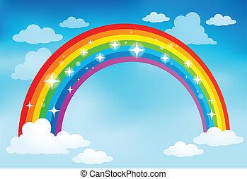 Image with rainbow theme 2