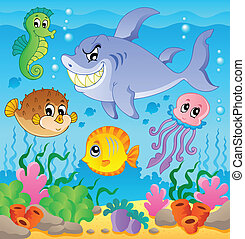 Image with undersea theme 3
