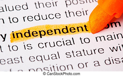 independent word