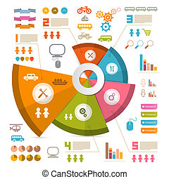 Infographics Vector Layout