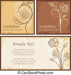 Invitation Rose 00