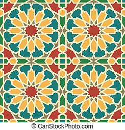 Islamic Star Tile