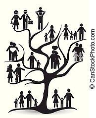 black family tree