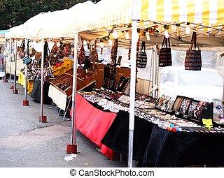 Jewel market place, outdoors, in Helsinki Finland