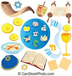 jewish clip art icons and symbols