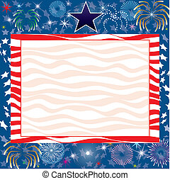 July 4th Background