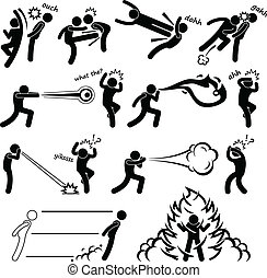Kungfu Fighter Super Power People