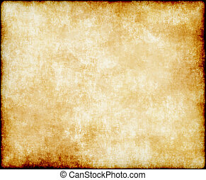 large old paper or parchment background texture