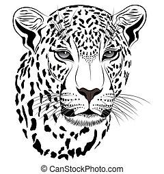 Leopard, tattoo