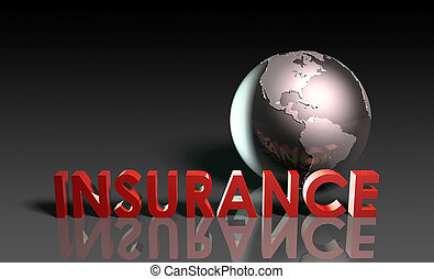 Life Insurance Policy as a Concept in 3d