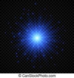 Light effect of lens flares