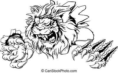 Lion claw breakthrough