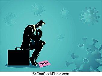 Loss job due to coronavirus