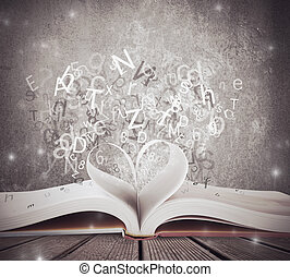 CZoncept of love for book