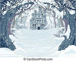Magic Winter Castle