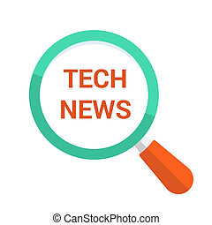 Magnifying Optical Glass With Words Tech News