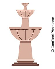 mexican traditional culture water fountain icon cartoon vector illustration graphic design