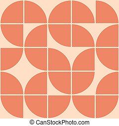 Mid century modern pattern