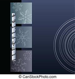 Minimalist Winter Background