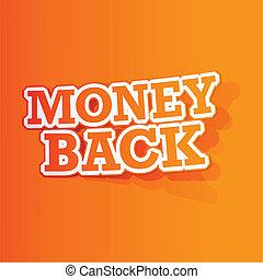 Money Back Sticker
