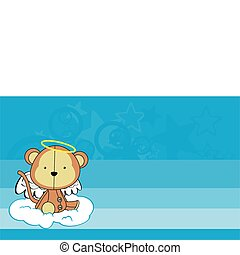 monkey angel cartoon wallpaper