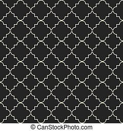 Moroccan style seamless pattern