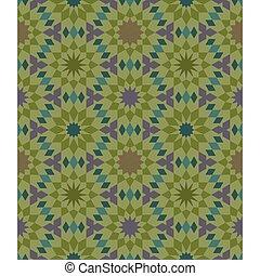 moroccan seamless pattern tile