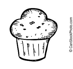 muffin doodle