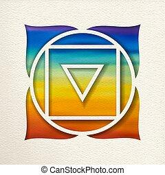 Muladhara root chakra design for yoga
