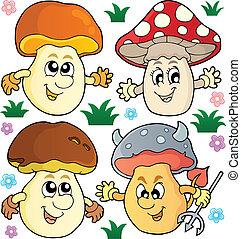 Mushroom theme collection 2