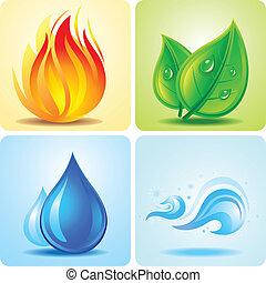 Nature element design
