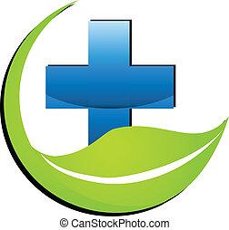 Nature medicine symbol logo