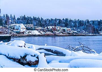 Northwest Winter Evening 2
