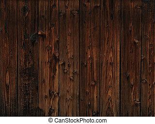 Old dark wood texture background