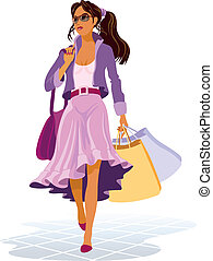 On shopping