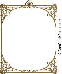 Ornamental frame/border