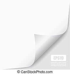 Page peel corner