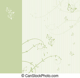 Pattern of wedding card