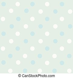 Pattern with polka dots