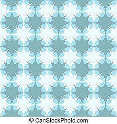 Pattern with quatrefoil