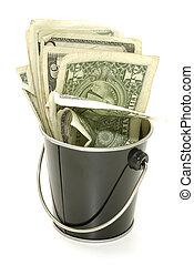 Bucket of Cash