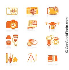 Photography icons || JUICY series