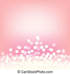 Pink bokeh and lights abstract background