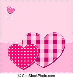 valentine background with heart