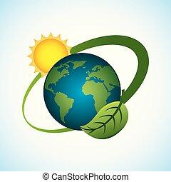 planet world sun energy environment clean