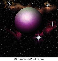 Planetary astronomy background